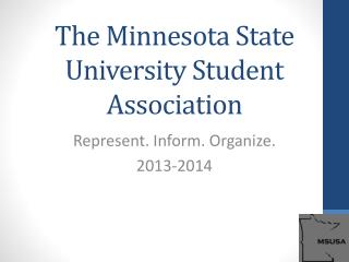 The Minnesota State University Student Association