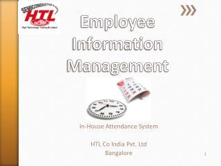 Employee Information Management