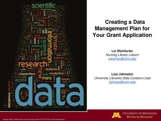 Creating a Data Management Plan for Your Grant Application
