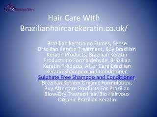Hair Care With Brazilianhaircarekeratin