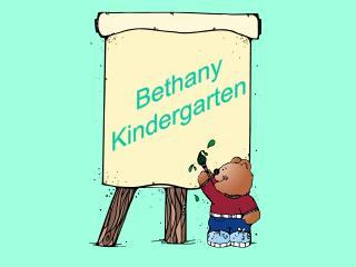 Bethany Kindergarten