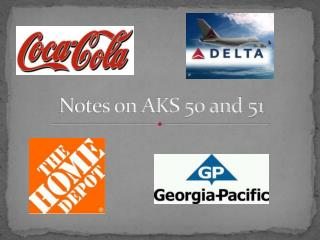 Notes on AKS 50 and 51