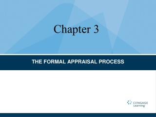 THE FORMAL APPRAISAL PROCESS