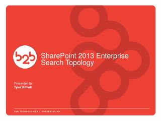 SharePoint 2013 Enterprise Search Topology