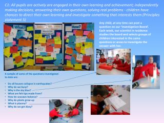 A sample of some of the questions investigated to date are: Do all houses collapse in earthquakes? Why do we burp? Why