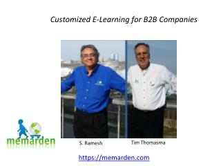 Customized E-Learning for B2B Companies