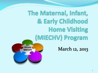 The Maternal, Infant, & Early Childhood Home Visiting (MIECHV) Program