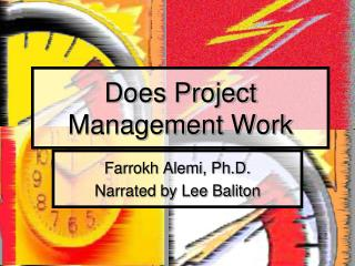 Does Project Management Work