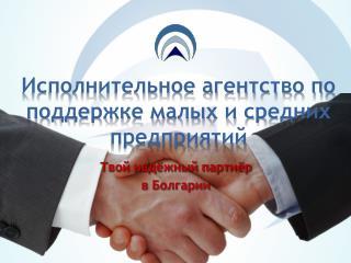Исполнительное агентство по поддержке малых и средних предприятий