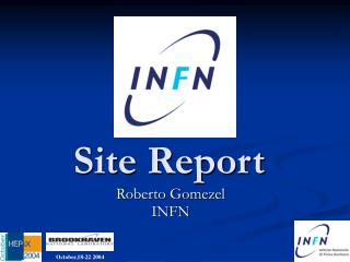 INFN Site report