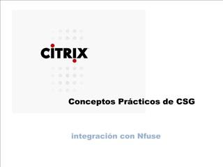 conceptos pr cticos de csg
