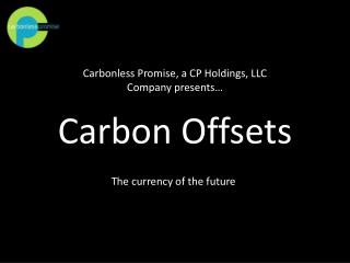 Carbon Offsets