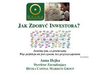 Jak Zdobyć Inwestora