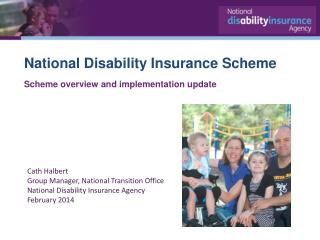 National Disability Insurance Scheme Scheme  overview and implementation  update