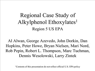 regional case study of alkylphenol ethoxylates1