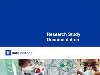 Research Study Documentation