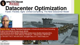 Datacenter Optimization