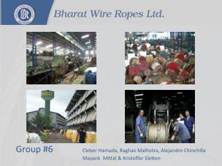 Group #6 Cleber Hamada,  Raghav Malhotra , AlejandroChinchilla Mayank Mittal  & Kristoffer Sletten