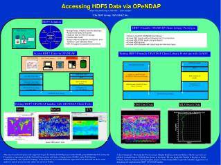 Accessing HDF5 Data via OPeNDAP