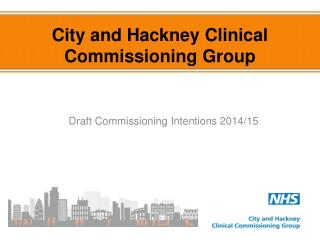 City and Hackney Clinical Commissioning Group