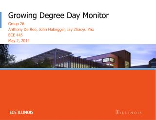 Growing Degree Day Monitor