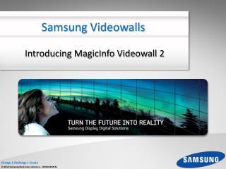 Samsung Videowalls