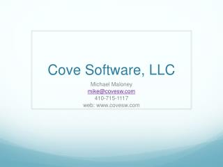 Cove Software, LLC