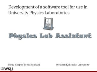 Development of a software tool for use in University Physics Laboratories