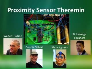Proximity Sensor Theremin