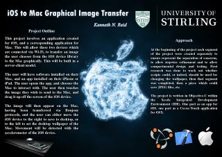 iOS to Mac Graphical Image Transfer