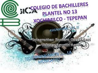 Colegio de Bachilleres Plantel No 13 Xochimilco - Tepepan