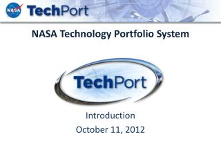 NASA Technology Portfolio System