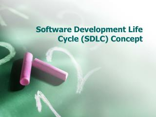 Software Development Life Cycle (SDLC) Concept
