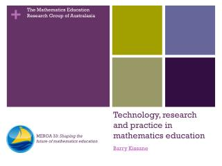 Technology, research and practice in mathematics education