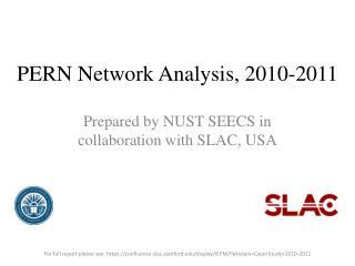 PERN Network Analysis, 2010-2011