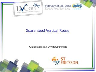 Guaranteed Vertical Reuse
