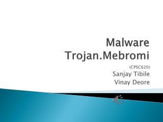 Malware Trojan.Mebromi