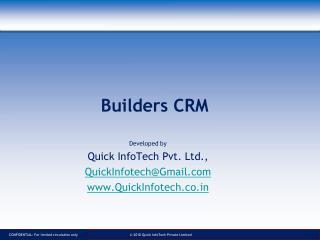 Builders CRM