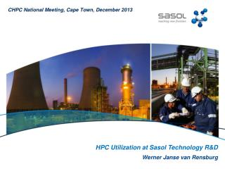 HPC Utilization at Sasol Technology R&D