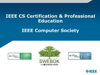 IEEE CS Certification & Professional Education  IEEE Computer Society