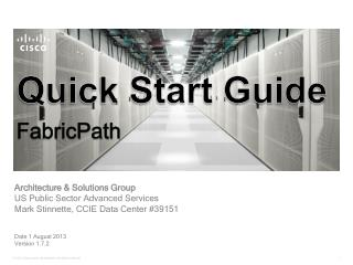 Quick Start Guide FabricPath