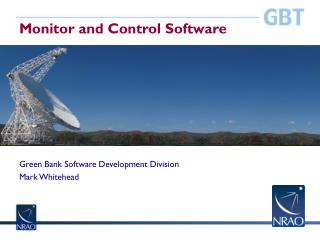 Monitor and Control Software