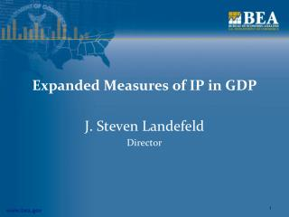 Expanded Measures of IP in GDP