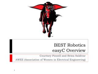 BEST Robotics  easyC  Overview