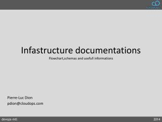 Infastructure  documentations Flowchart,schemas  and  usefull  informations