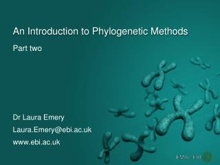 An Introduction to Phylogenetic Methods
