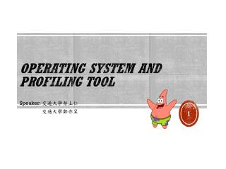 Operating System and Profiling Tool