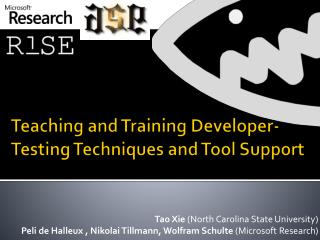 Teaching and Training Developer-Testing Techniques and Tool Support