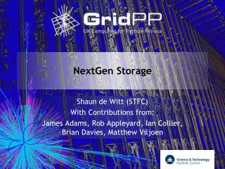 NextGen  Storage