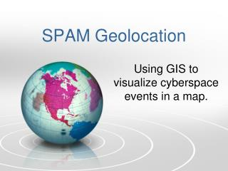 SPAM Geolocation